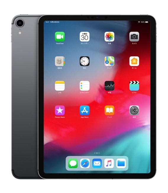 【中古】【安心保証】 SIMフリー iPadPro 3ー11[512G] グレイ