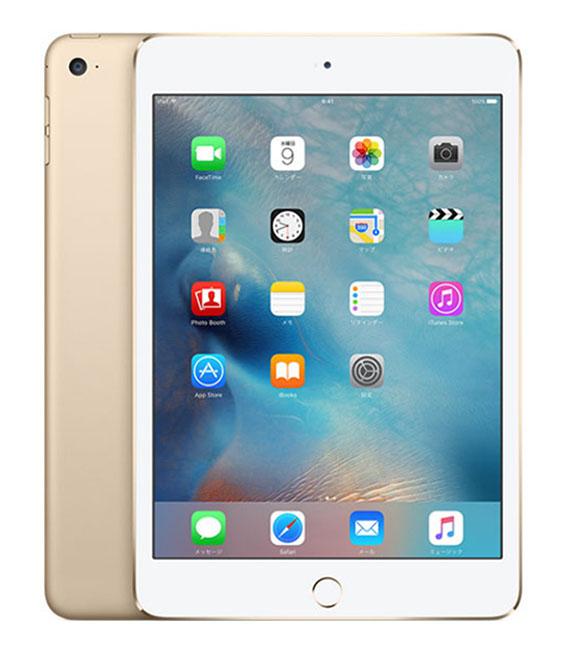 【中古】【安心保証】 docomo iPadmini4 Wi-Fi+Cellular 32GB ゴールド