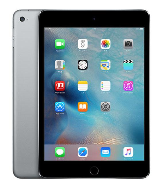 【中古】【安心保証】 au iPadmini4 Wi-Fi+Cellular 32GB スペースグレイ