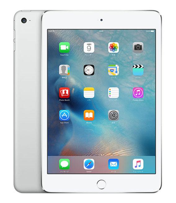 【中古】【安心保証】 SoftBank iPadmini4[セルラー32G] シルバー