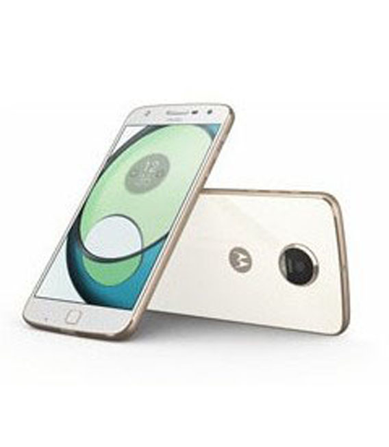 【中古】【安心保証】 SIMフリー MotoZPlay[32G] ホワイト