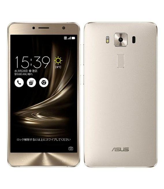 【中古】【安心保証】 SIMフリー ZenFone3Deluxe[64G] シルバー