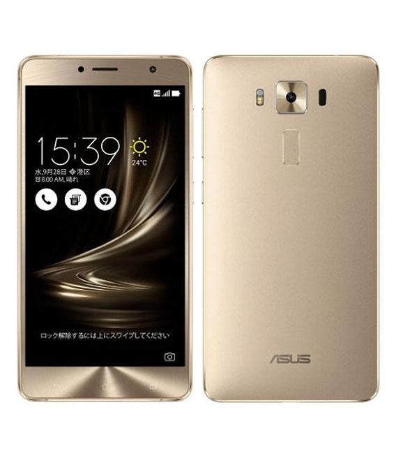 【中古】【安心保証】 SIMフリー ZenFone3Deluxe[64G] ゴールド