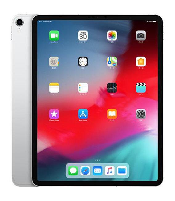 【中古】【安心保証】 au iPadPro 3ー12.9[セルラー256G] シルバー