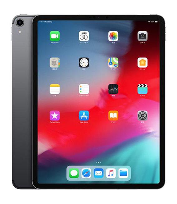 【中古】【安心保証】 au iPadPro 3ー12.9[セルラー256G] グレイ
