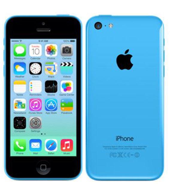 【中古】【安心保証】 docomo iPhone5c[16GB-d] ブルー