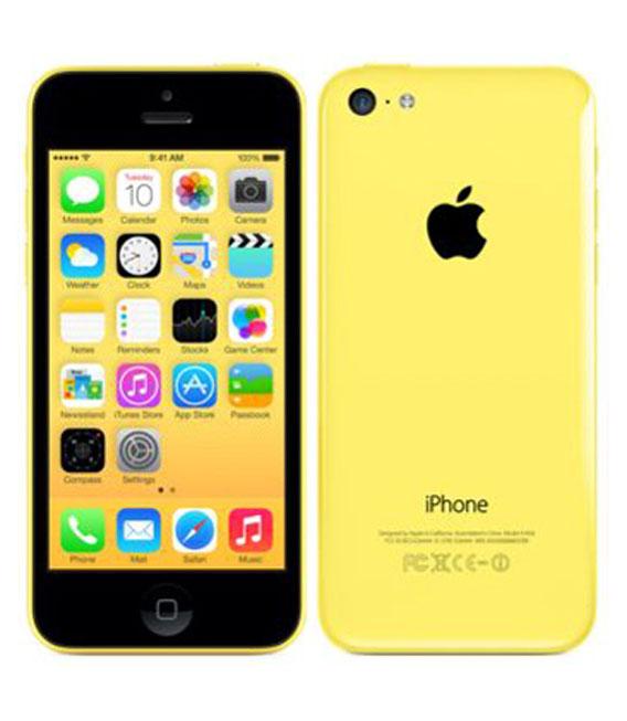 【中古】【安心保証】 docomo iPhone5c[32GB-d] イエロー