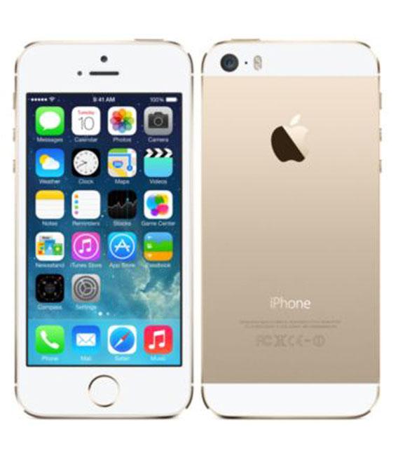 【中古】【安心保証】 SoftBank iPhone5s[32GB] ゴールド