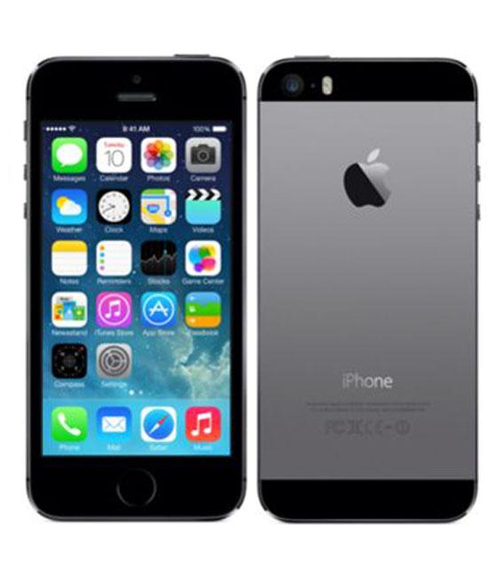 【中古】【安心保証】 SoftBank iPhone5s[64GB-s] スペースグレイ
