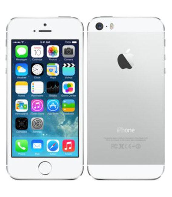 【中古】【安心保証】 SoftBank iPhone5s[32G] Silver