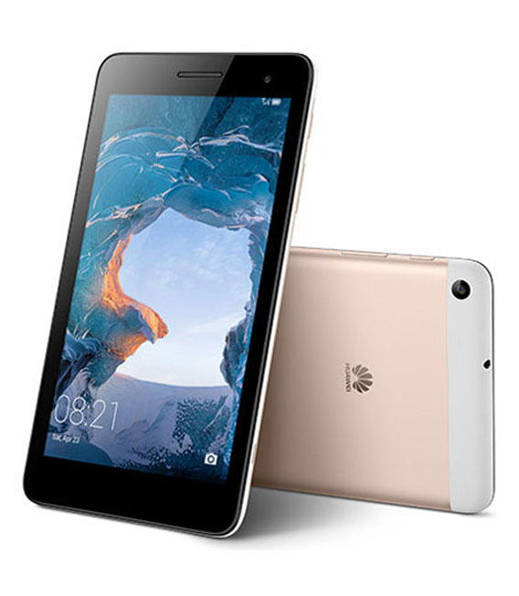 【中古】【安心保証】 SIMフリー MediaPad T1 7.0LTE[16G] ゴールド