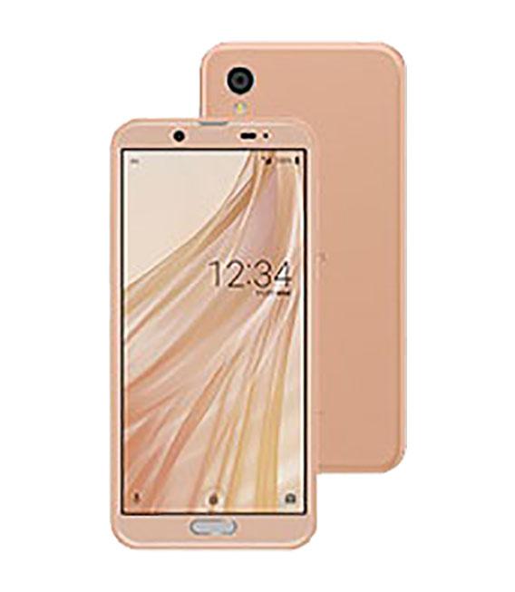 【中古】【安心保証】 UQモバイル SHV43 ピンクゴールド
