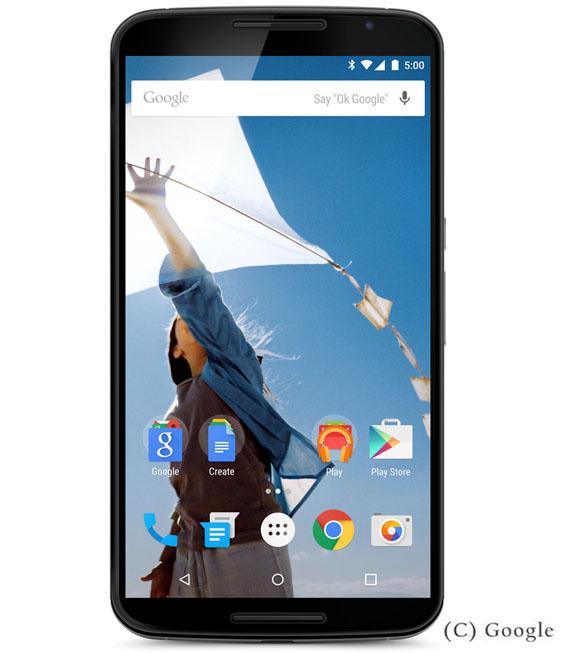 【中古】【安心保証】 Y!mobile Nexus6[32G] クラウドホワイト