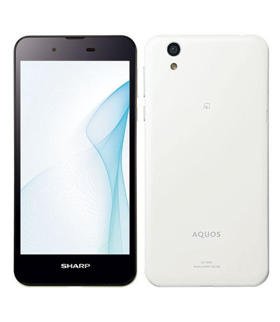 【中古】【安心保証】 SIMフリー AQUOS SH-M04 ホワイト