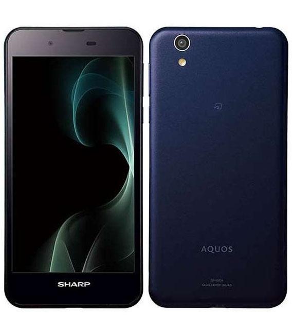 【中古】【安心保証】 SIMフリー AQUOS SH-M04 ネイビー