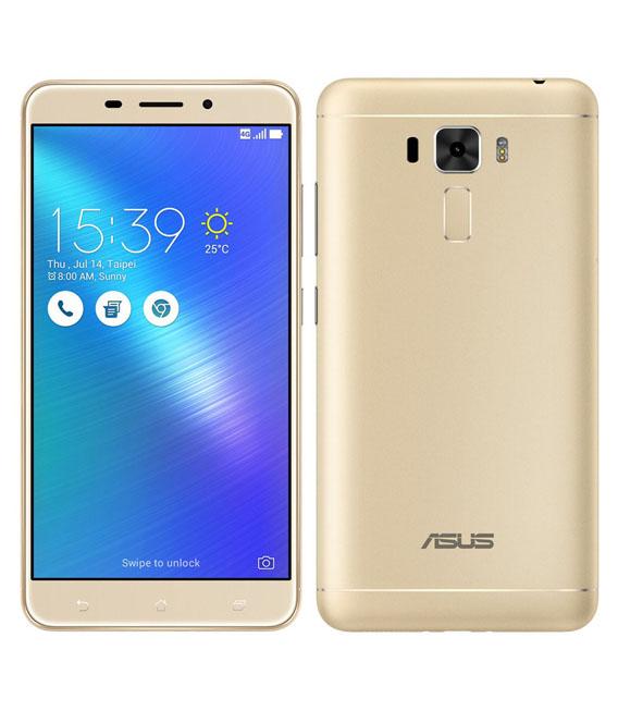 【中古】【安心保証】 SIMフリー ZenFone3Laser[32G] ゴールド