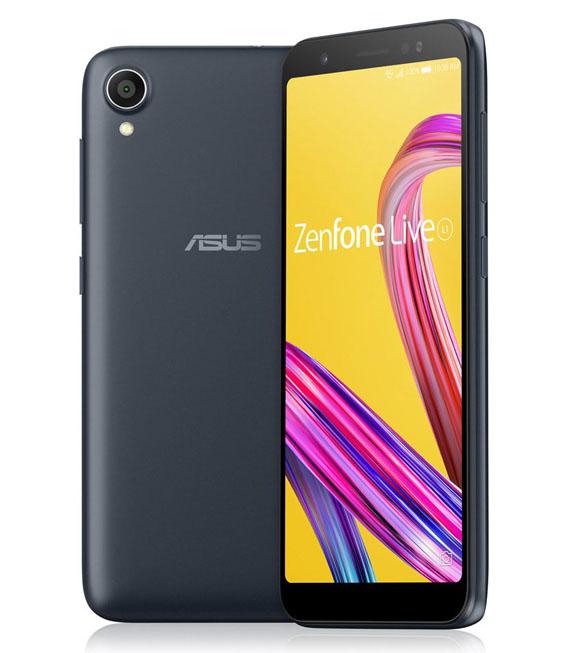 【中古】【安心保証】 SIMフリー ZenFoneLiveL1[32G] ブラック