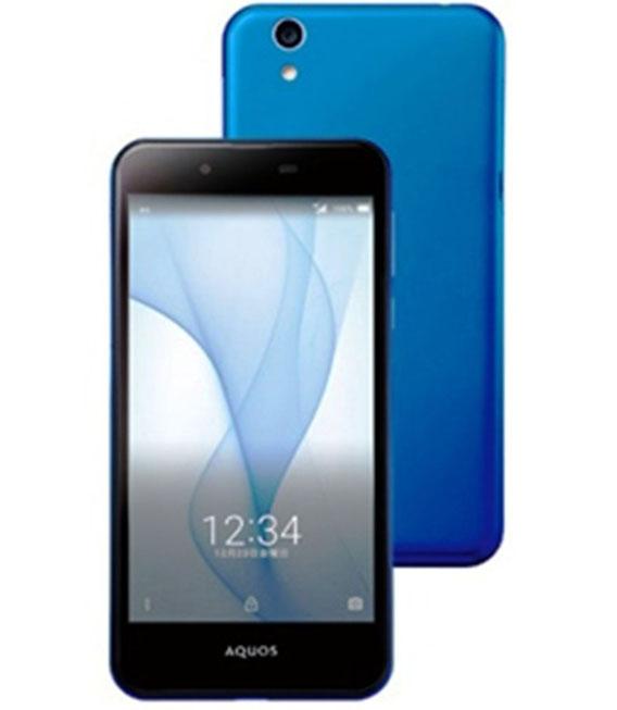 【中古】【安心保証】 SIMフリー AQUOS L SHV37 ブルー ブルー