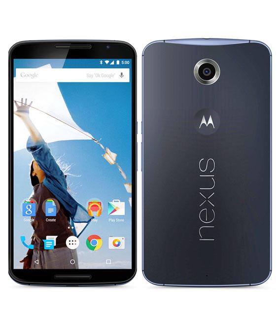 【中古】【安心保証】 SIMフリー Nexus6[64G] ダークブルー