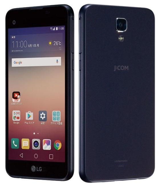 【中古】【安心保証】 SIMフリー LG X screen LG302 ネイビー ネイビー