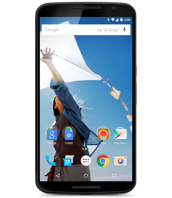 【中古】【安心保証】 SIMフリー Nexus6[64G] クラウドホワイト
