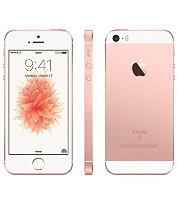 【中古】【安心保証】docomo iPhoneSE[64G] ローズゴールド