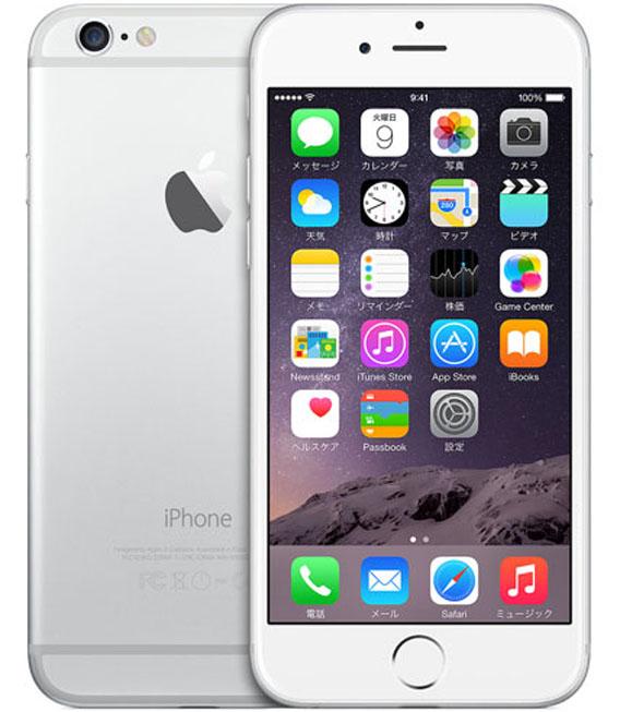 【中古】【安心保証】 SIMフリー iPhone6[海外16G] シルバー