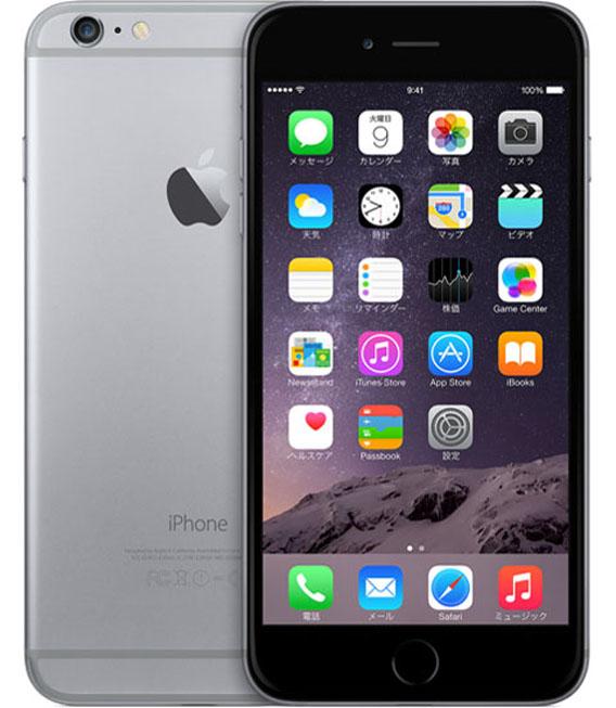 【中古】【安心保証】 SIMフリー iPhone6Plus[海外64G] スペースグレイ
