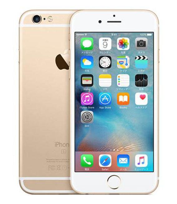 【中古】【安心保証】 SIMフリー iPhone6s[32G] ゴールド