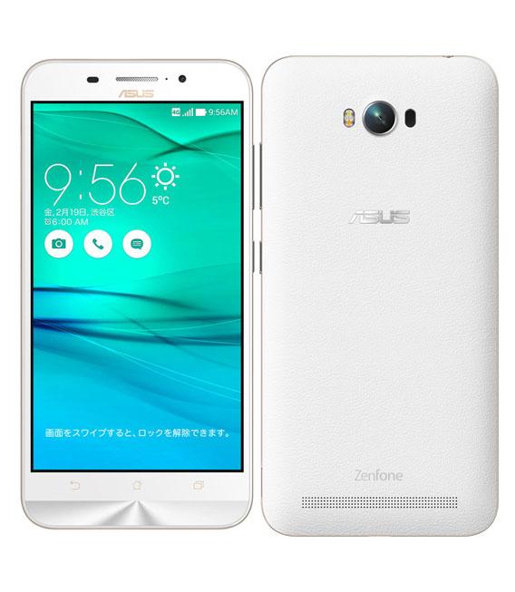 【中古】【安心保証】SIMフリー ZenFone Max[16G] ホワイト