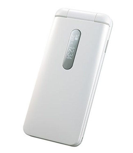【中古】【安心保証】 UQモバイル DIGNO Phone ホワイト