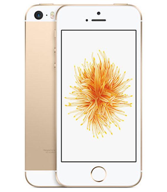 【中古】【安心保証】 au iPhoneSE[16G] ゴールド SIMロック解除済