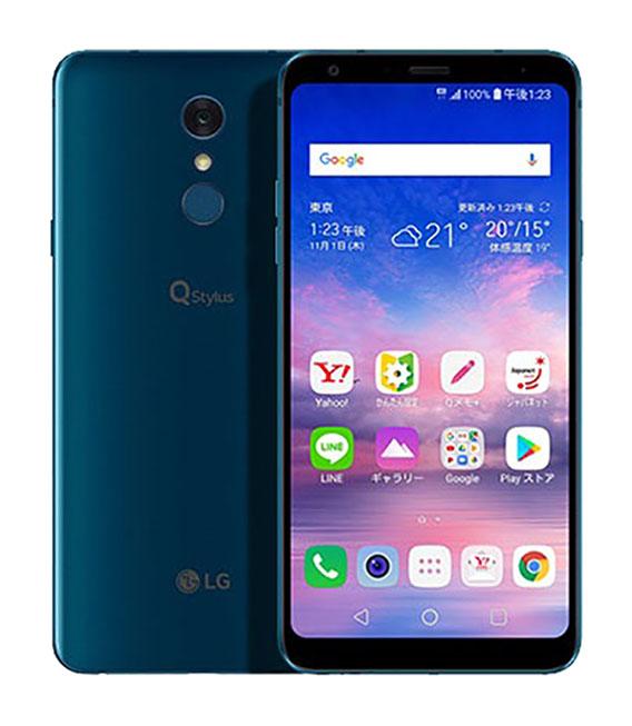 【中古】【安心保証】 Y!mobile 801LG ブルー