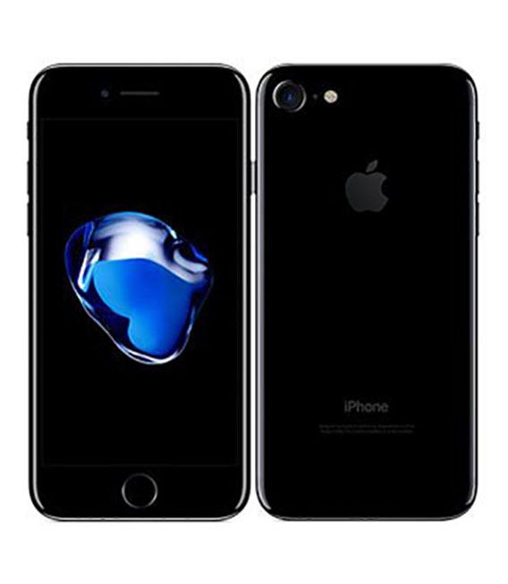 【中古】【安心保証】 SIMフリー iPhone7[128G] ジェットブラック