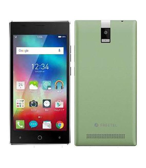 【中古】【安心保証】 SIMフリー Priori4[LTE] グリーン