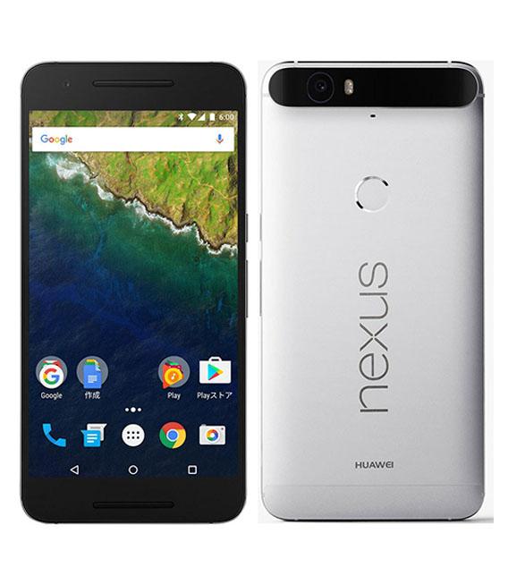 【中古】【安心保証】 Y!mobile Nexus6P[32GB] アルミニウム