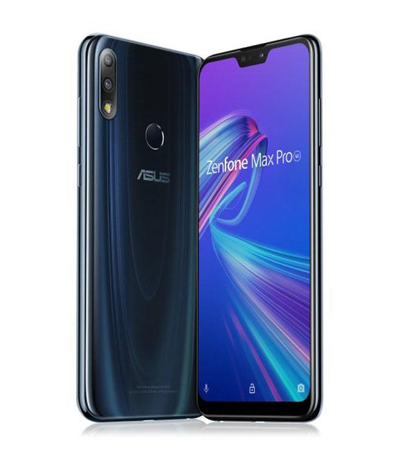 【中古】【安心保証】 SIMフリー ZenFoneMaxProM2[4G/64G] ブルー