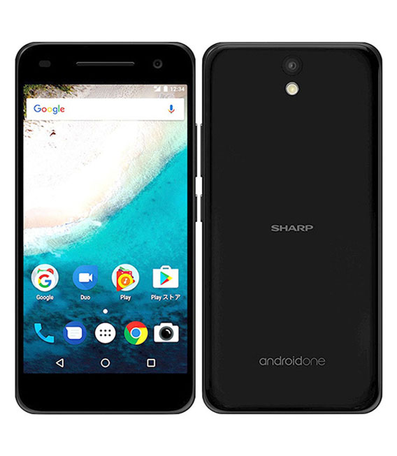 【中古】【安心保証】 Y!mobile Android One S1 ブラック