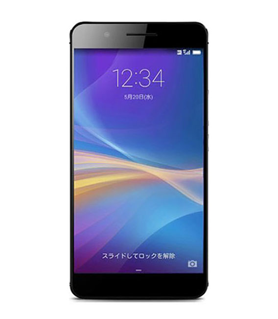 【中古】【安心保証】 SIMフリー honor6Plus ブラック