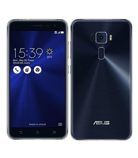 【中古】【安心保証】 SIMフリー ZenFone3[64G] ブラック