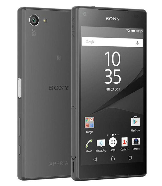【中古】【安心保証】SIMフリー Xperia Z5 Compact E5823 グラファイトブラック