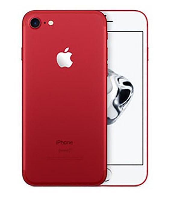 【中古】【安心保証】SIMフリー iPhone7[256G] レッド