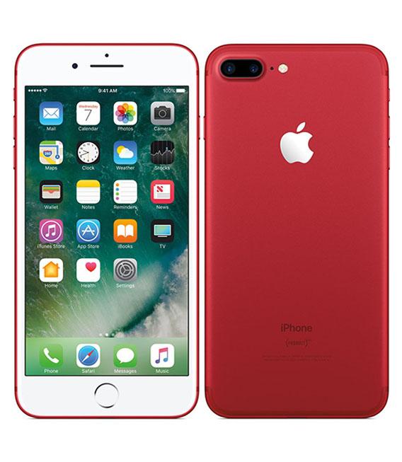 【中古】【安心保証】 SoftBank iPhone7Plus[128G] レッド