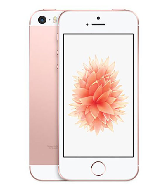 【中古】【安心保証】 SoftBank iPhoneSE[32GB] ローズゴールド