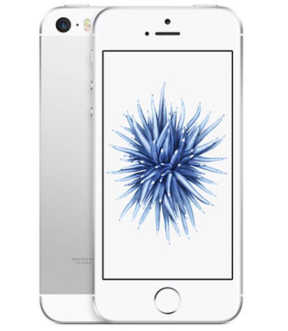 【中古】【安心保証】 au iPhoneSE[32G] シルバー SIMロック解除済