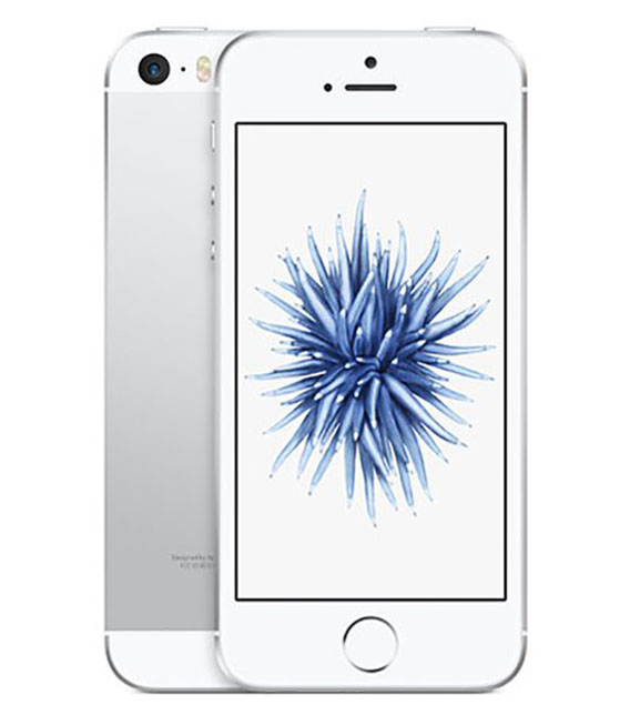 【中古】【安心保証】 Y!mobile iPhoneSE[32G] シルバー