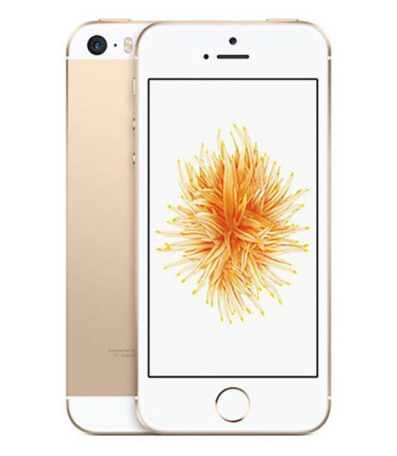 【中古】【安心保証】 SIMフリー iPhoneSE[32G] ゴールド