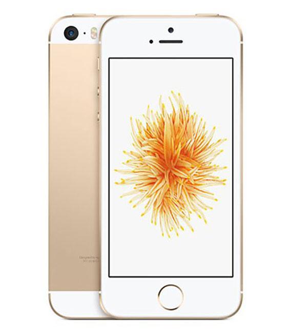 【中古】【安心保証】 Y!mobile iPhoneSE[32G] ゴールド