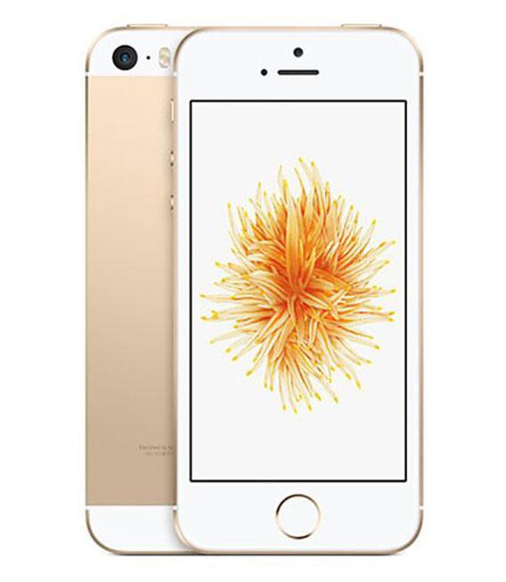 【中古】【安心保証】 UQモバイル iPhoneSE[32G] ゴールド