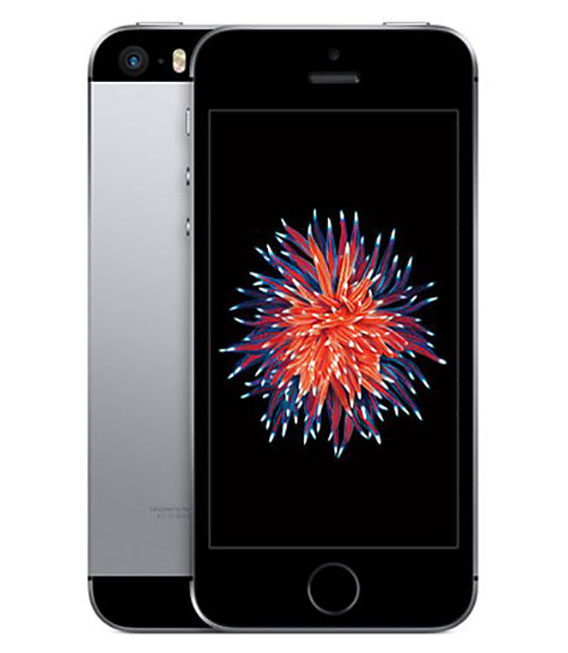 【中古】【安心保証】 docomo iPhoneSE[32G] スペースグレイ